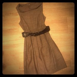 Maurices Belted Brown Sleeveless Dress NWT